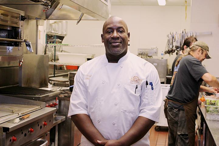 Derek in the UGM kitchen
