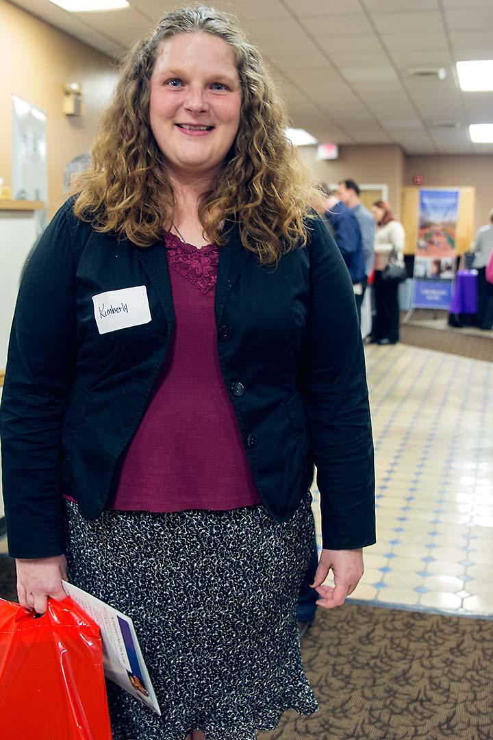 Kimberly at the UGM Career Fair