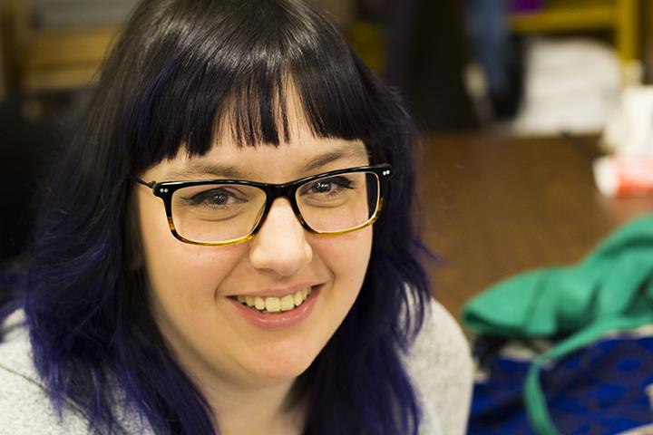 Brianna at Spokane Falls Community College